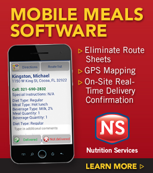 ServTracker Mobile Meals Software