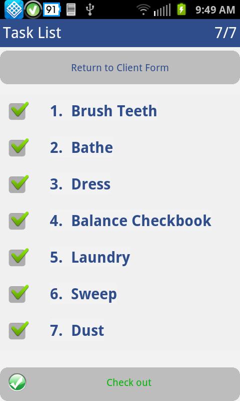 Homecare app